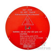[Sintron] Kossel Heatbed Round Alu MK3 Heated Bed for Delta Rostock 3D Printer
