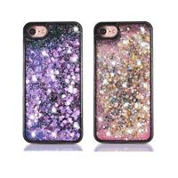 For Various Phone Case Cover Glitter Stars Dynamic Liquid Sand Quicksand Hybrid