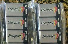 (6) Energizer 9V Battery Alkaline 9 Volt Batteries ~ Exp 12/22 ~ 6 Pack