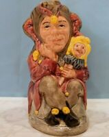 Royal Doulton - The Jester - Toby Jug D6910 Limited Edition #2329/2500