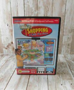 Lakeshore iLakeshore Interactive Whiteboard Software PC Shopping Main Idea Game