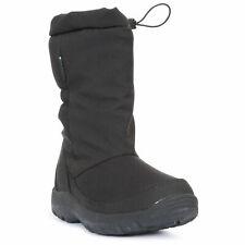 Trespass Womens Snow Boots Waterproof with Insulated Side Zip Winter Lara II