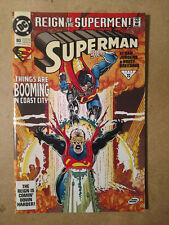 SUPERMAN #80 FIRST PRINT DC COMICS (1993) REIGN OF SUPERMEN