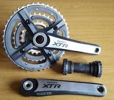 Shimano XTR FC-M970 MTB Triple Chainset (3 x 9 spd) 175mm inc XTR BB & Tools