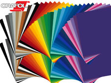 "10 Sheets - 12"" X 12"" ORACAL 651 Craft & Hobby Cutting Vinyl - *40 Color Choices"