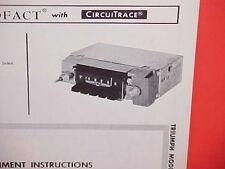 1965 TRIUMPH SPITFIRE MARK II TR4A ROADSTER AM RADIO SERVICE MANUAL BROCHURE 3