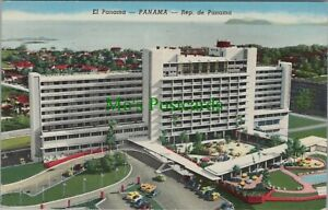 Panama Postcard-El Panama, Largest and Finest Hotel in Central America RS24932