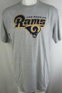 Los Angeles Rams NFL Majestic Men's Big & Tall Gray Logo Tee