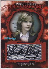 "2008 SUPERNATURAL CONNECTIONS AUTO: LINDA BLAIR #A2 AUTOGRAPH ""EXORCIST"" PLAYBOY"