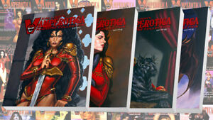 Kirk Lindo's VAMPEROTICA MAGAZINE COLLECTION V1 - V4 REG. + Naughty (8 BOOKS)