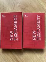 The New Testament: New International Version- Beacon Bibles 2011 Lot Of 2