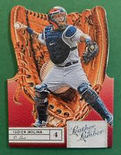 2019 Panini Leather & Lumber Baseball Yadier Molina Die Cut Gloves #48
