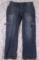 Simply Vera Wang Straight Leg Jeans Size 4 Women's Blue Cotton Used