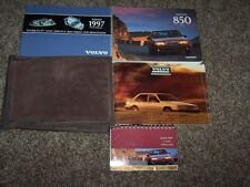 1997 Volvo 850 Owner Owner's Operator User Guide Manual GT GLT T5 R 2.3L 2.4L
