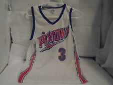 DETROIT PISTONS VINTAGE BEN WALLACE JERSEY STADUIM GIVEAWAY YOUTH MEDIUM