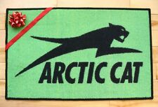 Arctic Cat logo door mat snowmobile side by side zr ext thundercat mountain cat