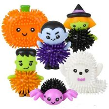 "2"" Halloween Spiky Character Figures Porcupine Ball Spooky Prize Treat Toy"