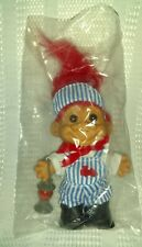New ListingTrain Conductor Russ Troll Doll New Red Hair Vintage Retro Nostalgic