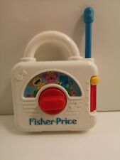 Fisher Price Vintage Activity Radio Plays Three Blind Mice - 1992