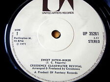 """CREEDENCE CLEARWATER REVIVAL - SWEET HITCH-HIKER   7"""" VINYL"""