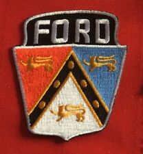 FORD Emblem employee owner driver patch 2-7/8 X 2-1/2 #2452