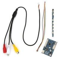 50-Pin Single AV Driver Board Controller Module for 7/9/10.1 Inch LCD Screen