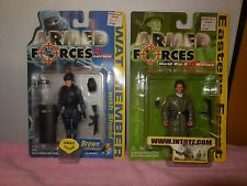 2 armed forces action figures