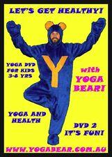Yoga Bear Fun Kids Yoga DVD2 - Let's get Healthy!!