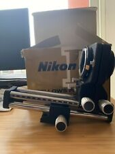 nikon pb-4 bellows focusing attachment   open but never used