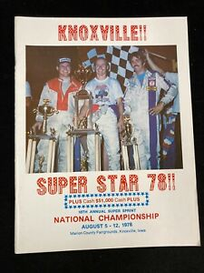 1978 KNOXVILLE RACEWAY 18TH ANNUAL SUPER SPRINT NATIONAL CHAMPIONSHIP PROGRAM