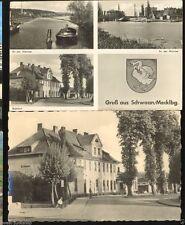 Ansichtskarten aus Mecklenburg-Vorpommern mit dem Thema Eisenbahn & Bahnhof