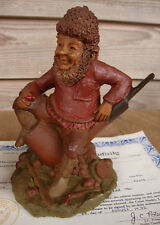 Tom Clark Gnomes Smoky Tobacco Pipe 1983 Edition 78 Retired Coa 6.5""
