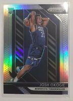 2018-19 Panini Prizm Rookie Silver Prizm #37 Josh Okogie RC Rookie Card