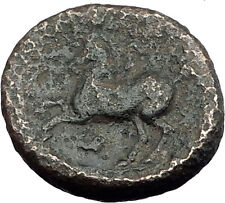Philip II 359BC Olympic Games HORSE Race WIN Macedonia Ancient Greek Coin i62611