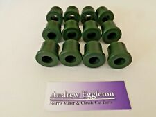 CLASSIC MORRIS MINOR EYE BOLT & REAR SPRING POLYURETHANE BUSH KIT GREEN