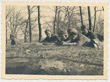 Foto Soldaten- Wehrmacht  mit Handgranate 2.WK (e62)