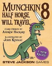 Steve Jackson Games Sjg1485 Munchkin 8 Half Horse Will Travel Board Game