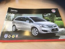 VAUXHALL ZAFIRA 2013 MODELS EDITION 1, Sales Brochure, VM1210126, 26 Pages
