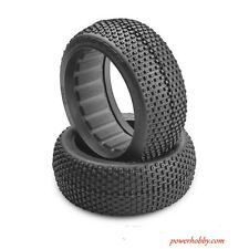JConcepts 3090-01 Chasers Blue Compound 1/8 Buggy Tire (2)