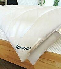 Famous Sleep Kamelhaardecke extra leicht Sommer Bettdecke Baumwolle Natur pur