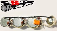Custom Shop  Jazz bass Wiring Harness! High Quality, Great Sound! Solderless