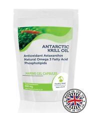 Antarctic Krill Oil 500mg Omega Marine Oil 1000 Capsules Pills Supplements