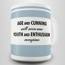 Age and Cunning Gift Mug - The battle of the generations