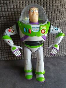 """Toy Story Buzz Lightyear 12"""" Talking Figure Speaks English and Spanish"""