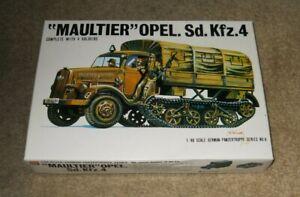 1/48 BANDAI Maultier OPEL Sd.Kfz.4 WW2 German Logistical Supply Truck
