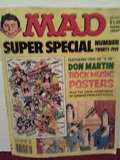 Mad MAGAZINE Super Special Number Twenty-five with 2 posters