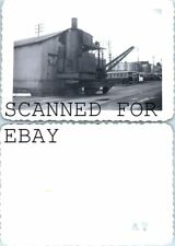 Old Railroad Steam Engine Crane San Francisco? VINTAGE RAILROAD PHOTO