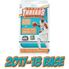 2017-18 Panini Threads NBA Basketball Cards BASE Set *PICK A PLAYER* 1-100