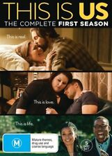 THIS IS US SEASON 1 DVD, NEW & SEALED, REGION 4.