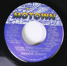 Soul 45 Jermaine Jackson - Let Me Tickle Your Fancy / Maybe Next Time On Motow 1